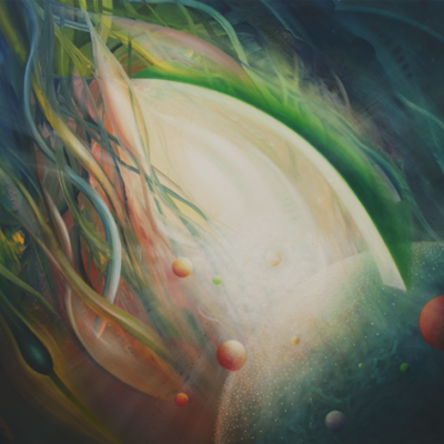 0026 SPHERE Q03XY ( art ~ science ) - oil on wooden panel - 75x95 cm - MMXII