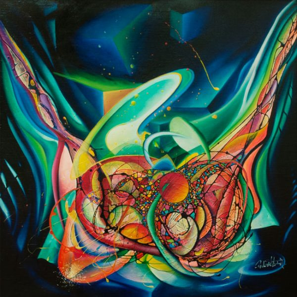 0030-SPHERE-genesis-(genotype~phenotype)-oil-on-canvas-107x107-cm-MM