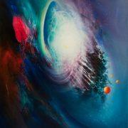 SPHERE-Q33W-(time~space)-oil-on-canvas-50x40cm-by-Drazen-Pavlovic-MMXII