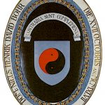 Bohr's Shield, with motto,