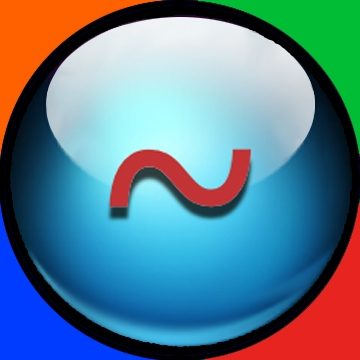 The squiggle symbol. Stands for complementary nature and coordination dynamics of.,,