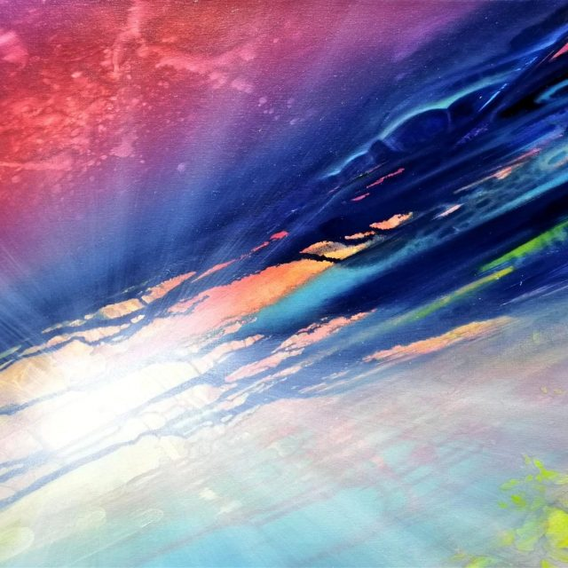 SPHERE SS ( sunrise ~ sunset ) * oil on canvas * 40x60 cm * MMXXI