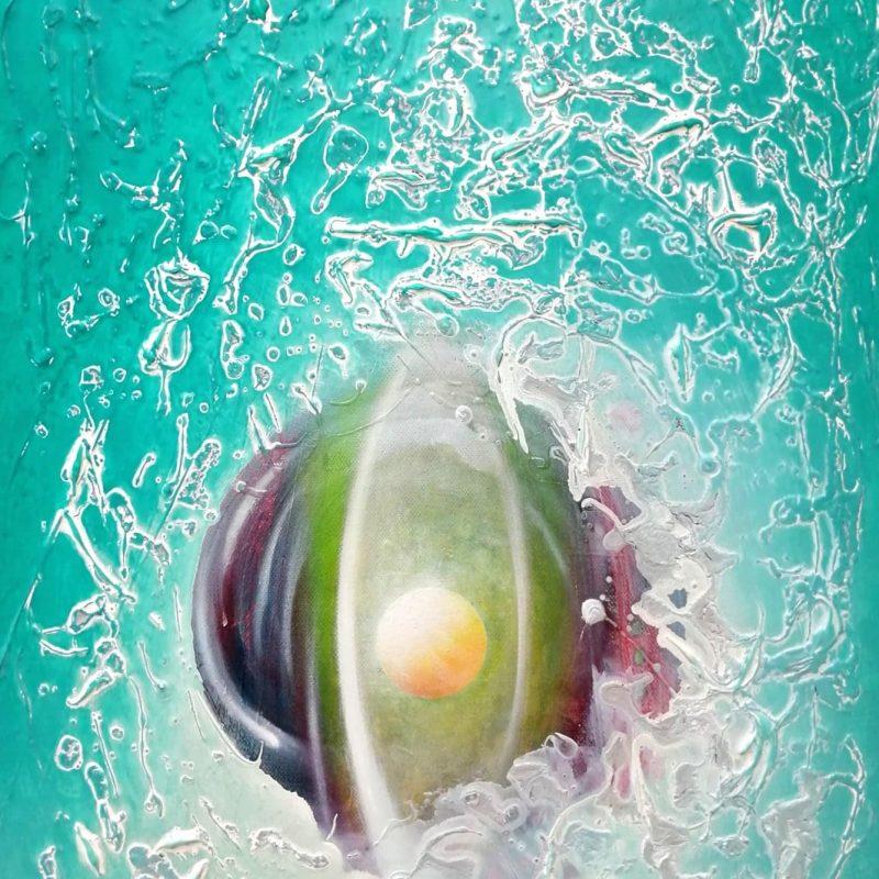 SPHERE SP (sensation ~ perception ) * oil on canvas * 60x40 cm * MMXX