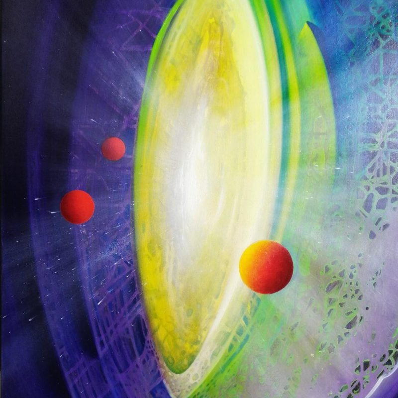 SPHERE TR ( tension ~ relaxation ) * oil on canvas * 80 x 60 cm * MMXX