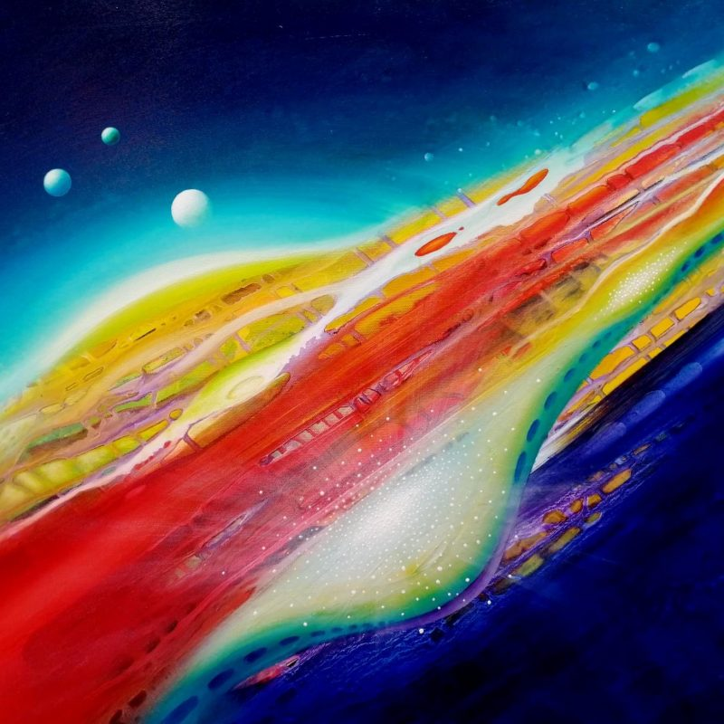 SPHERE LS ( leaving ~ staying ) * oil on canvas * 60 x 80 cm * MMXX