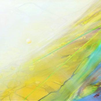 SPHERE PR  ( photon ~ ray  ) * oil on canvas * 40x60 cm * MMXXI