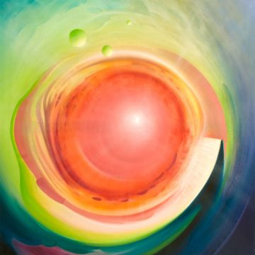 SPHERE-CORE-illuminate-(physical~mental)-oil-on-canvas-100x90-cm-MMXII