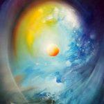 SPHERE ES2 (element~system ) - oil on canvas - 60 x 40 cm - MMXV-by-Drazen Pavlovic-Certificate No. 52647-sold