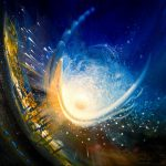 SPHERE ID (invent ~ discovery) * oil on canvas * 40 x 40 cm * MMXVII * author Drazen Pavlovic