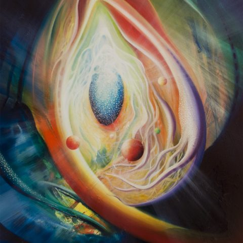 SPHERE-metastability-Q3-(female~male)-oil on-wooden-panel-45x50cm-MMXIII